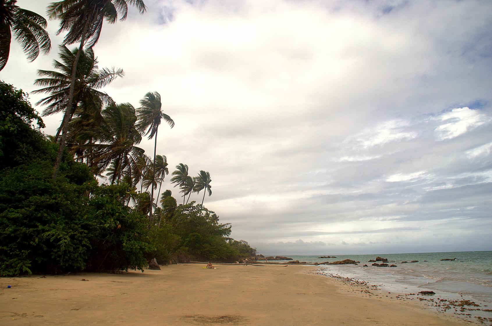 Praia de Tassimirim em Boipeba